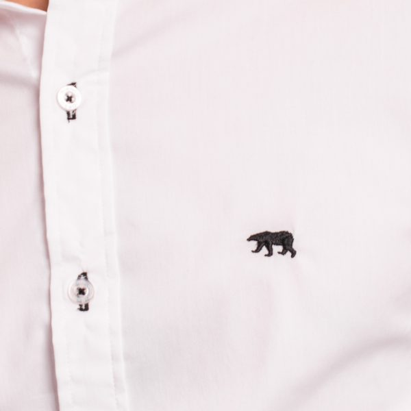 camisa de hombre lisa