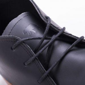 zapato bota de hombre puro cuero color marron negro