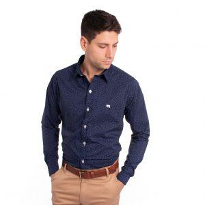 camisa de hombre slim fit