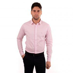 camisa rosa de hombre vestir