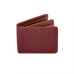 billetera de hombre cuero con tarjetero