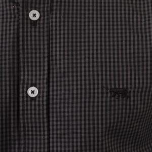camisa hombre cuadrille algodon slim fit