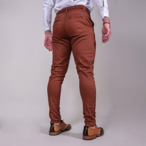 pantalon de hombre de vestir formal color camel